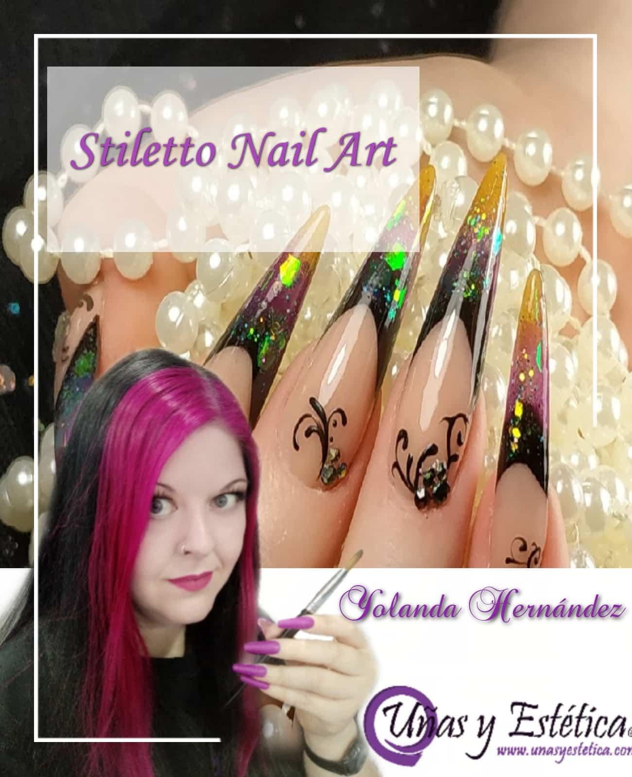curso de estructura de uñas Stiletto